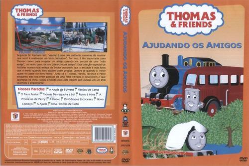 thomas e friends ajudando os amigos dvd original