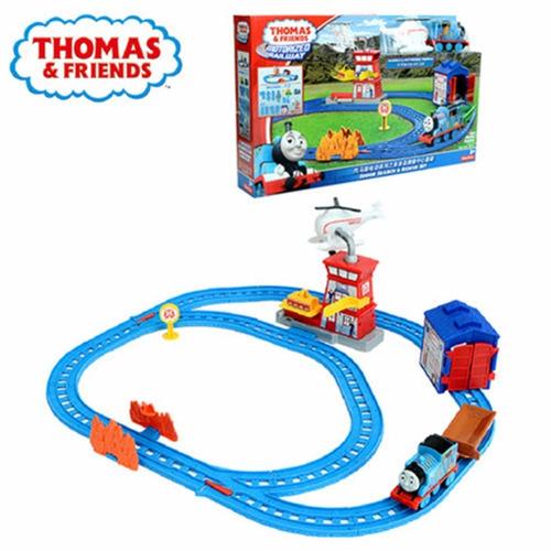 thomas e friends ferrovia motorizada resgate em sodor mattel