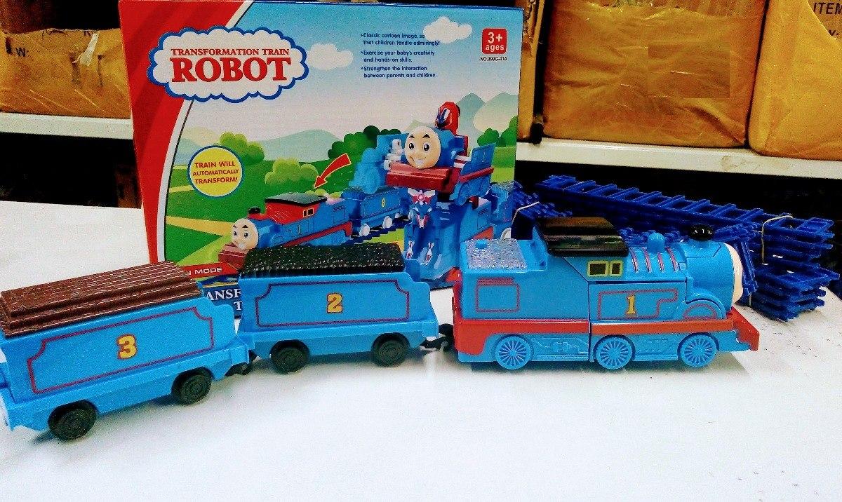 Thomas E Seus Amigos - Trem Se Transforma Em Robô