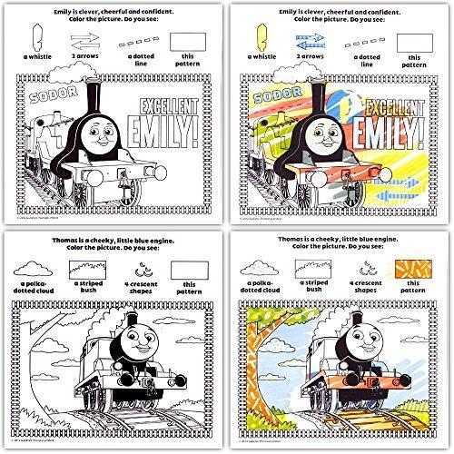 Thomas El Tren Imagínese Tinta Libro Y Libro De Pegatinas S ...