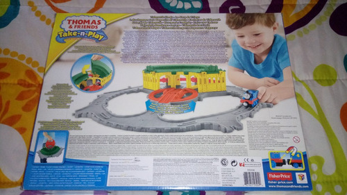 thomas & friends (cochera de tidmouth), fisher price.