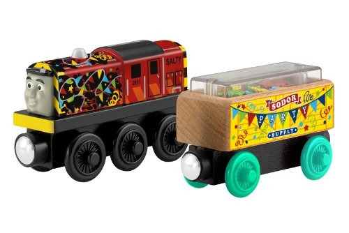 thomas & friends fisher-price wooden railway, celebración