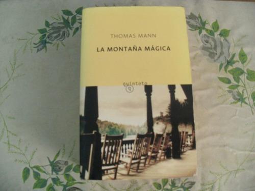 thomas mann/ la montaña magica