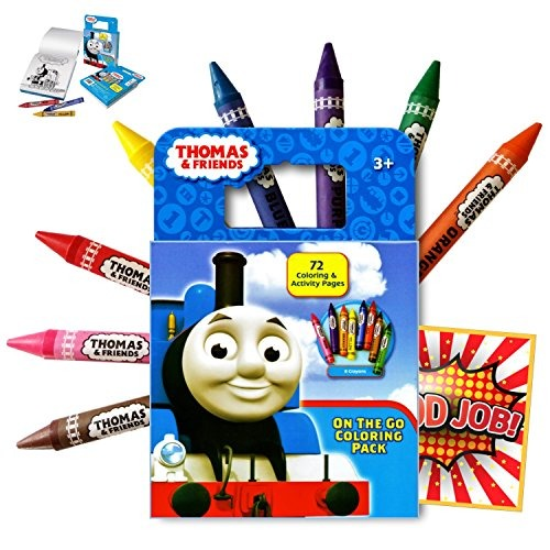 Thomas The Train Libro De Colorear De Actividad De 72 - $ 601.77 en ...