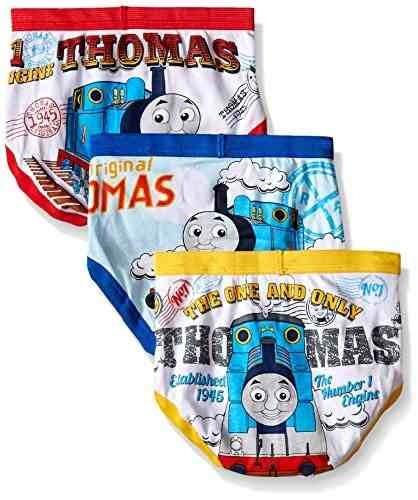 thomas the train - pack de 2 calzoncillos para niños pequeño