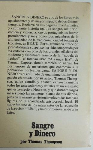 thomas thompson sangre y dinero libro hecho en españa 1976