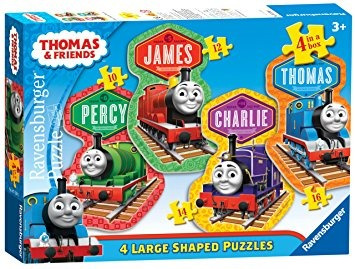 thomas y amigos 4 amigos 4 en forma de puzzles