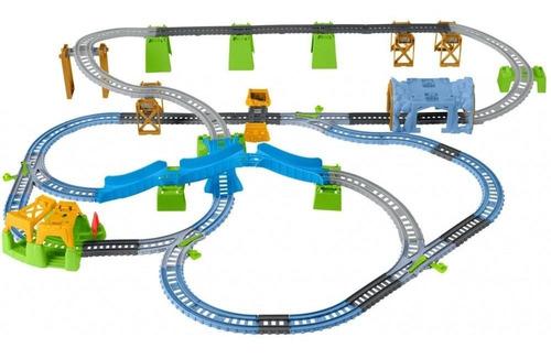 thomas y sus amigos - trackmaster - pista percy 6-in-1
