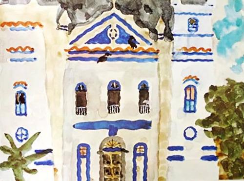 thomaz ianelli - lâminas aquarelas capitanias - lenach