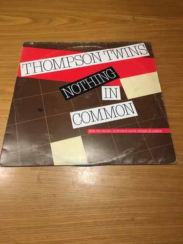 thompson twins nothing in common 12  argentina maxi