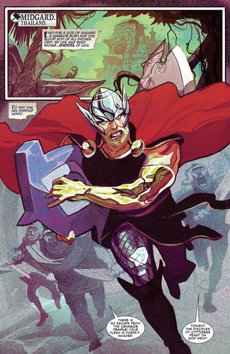 thor #1 god of thunder reborn (2018) marvel lgy#707