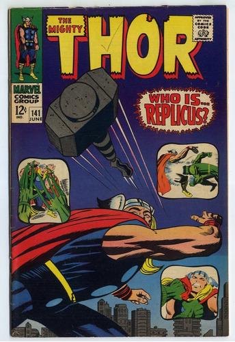 thor #141 jun de 1967 marvel 8.0 (importado)
