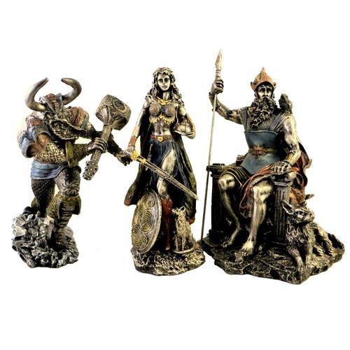 thor e odin e freya mitologia nórdica deus do trovão