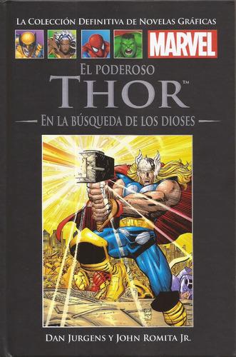 thor: en la búsqueda de los dioses. tomo salvat. marvel