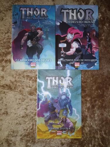 thor fase aaron (volumes 1, 2 e 4)