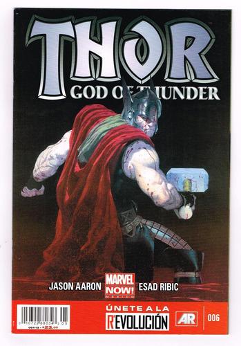 thor god of thunder # 6 - marvel now! -  editorial televisa