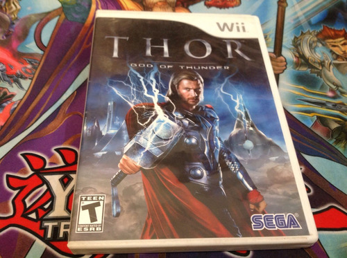 thor god of thunder.    wii