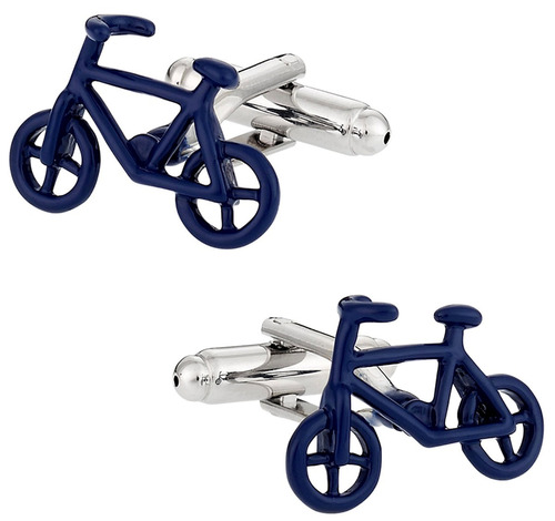 thot ra mancuernillas bicicleta azul ciclista bici e-450
