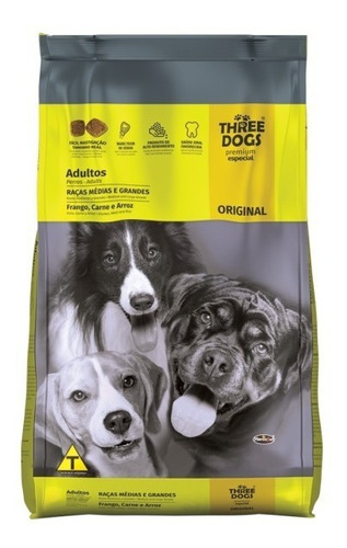 three dogs original 20kg