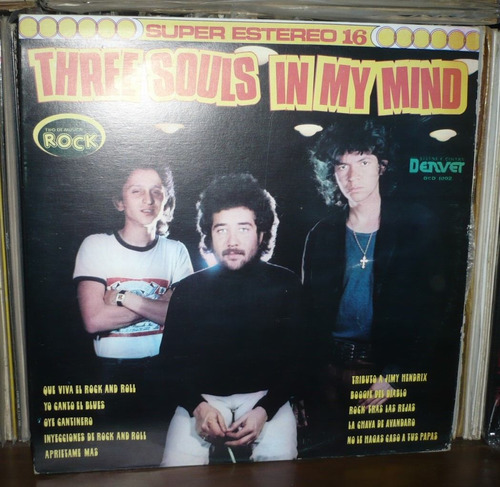 three souls in my mind lp
