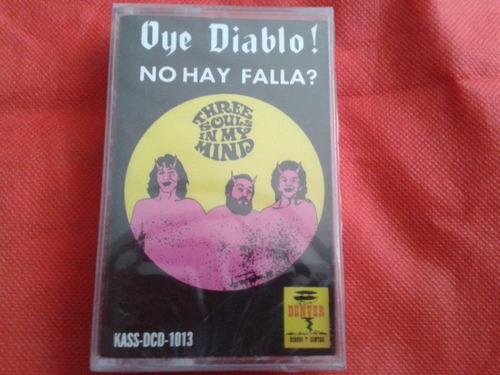 three souls in my mind oye diablo cassete nuevo