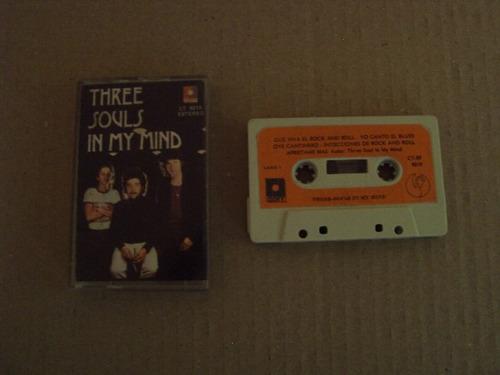 three souls in my mind sello raff cassette raro