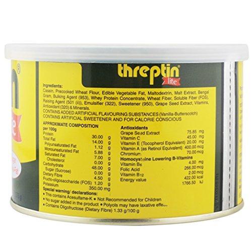 threptin threptin lite sin azúcar sin transfat 275 g
