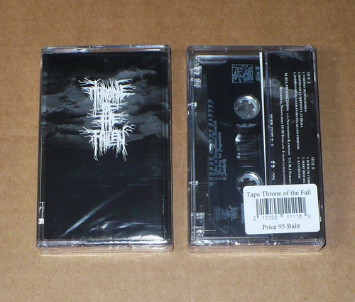throne of the fallen - throne of the fallen black metal