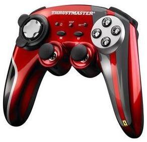 thrustmaster joystick inal/ ferrari 430 oficial p/ pc y ps3