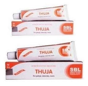 Thuja Homeopática Crema Pomada Para Polypi, Tubercles Y