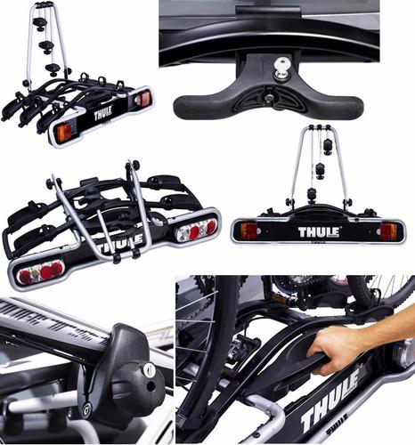 thule euroride 943 transbike suporte 3 bike engate carro