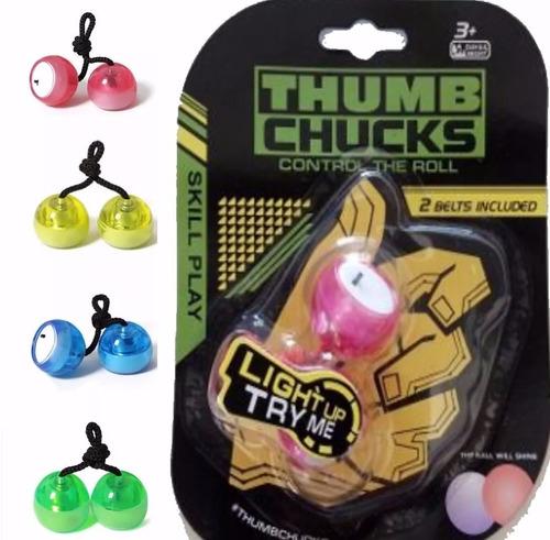 thumb chucks de led febre do momento