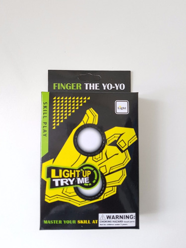 thumb chucks yo yo de dedos com luz oferta cada exclusivo
