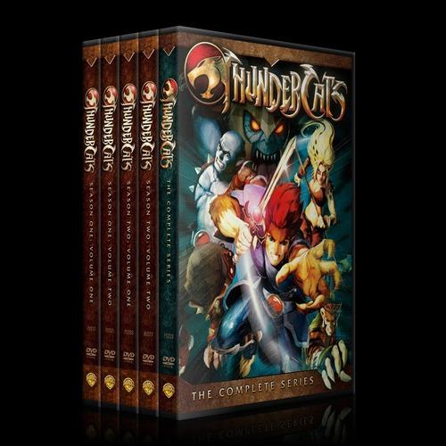 thunder cats colección dvd latino