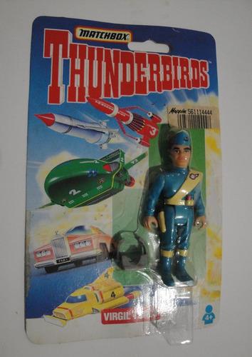 thunderbirds: virgil tracy estrela matchbox
