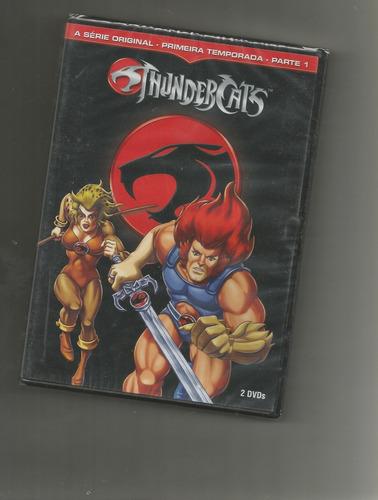 thundercats 1º temporada parte 1 (warner) dvd duplo lacrado