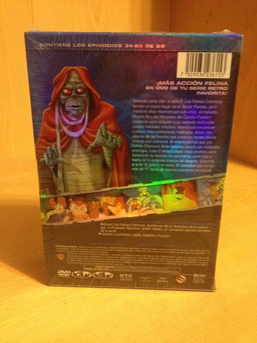 thundercats temporada 1 volumen 2 set con 6 discos nuevo