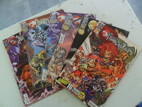 thundercats! vários! r$ 7,00 cada! panini 2003!