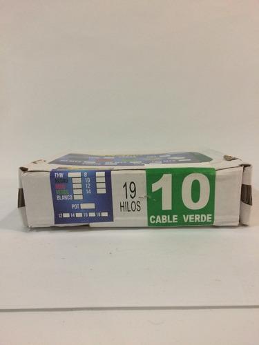 thw cal 10 100% cobre 1 rollo