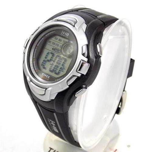 ti5k278n relógio timex unissex wr50 cronômetro luz 41mm