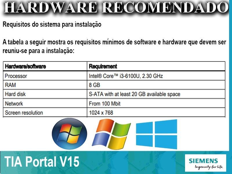 Tia Portal V15 Step 7 Prof  / Wincc Prof  / Plcsim + Adv V2
