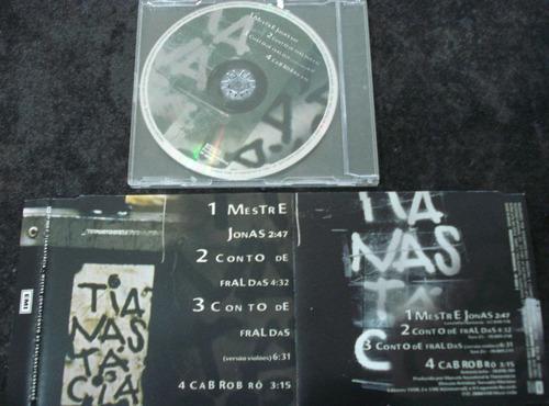 tianastácia - cd single promo - mestre jonas