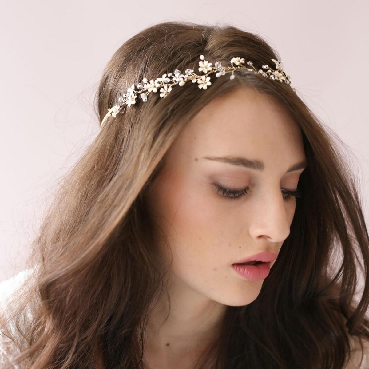 tiara adorno cabello metalico brillante fiesta gatsby años20. Cargando zoom. 23ab31e6df9c