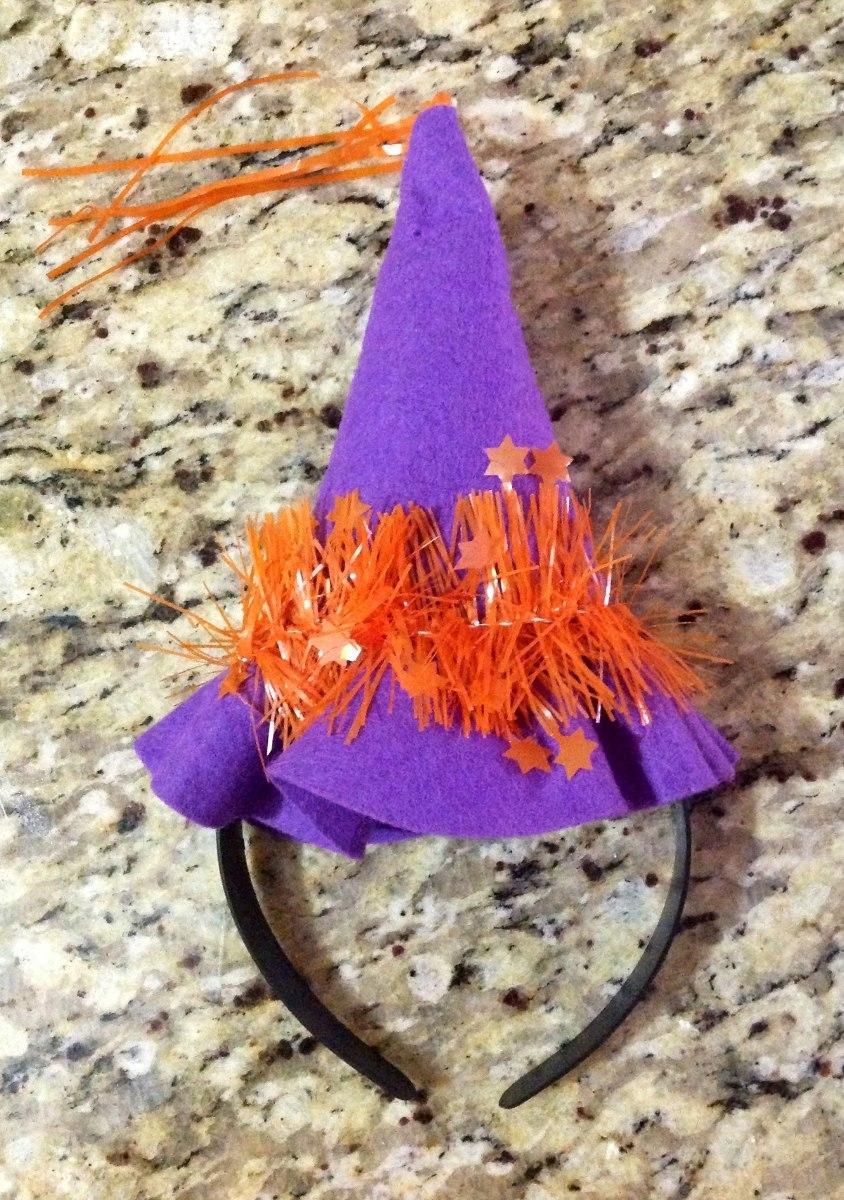 b469f26af4 tiara chapéu arco bruxa enfeite halloween decoração cabeça. Carregando zoom.