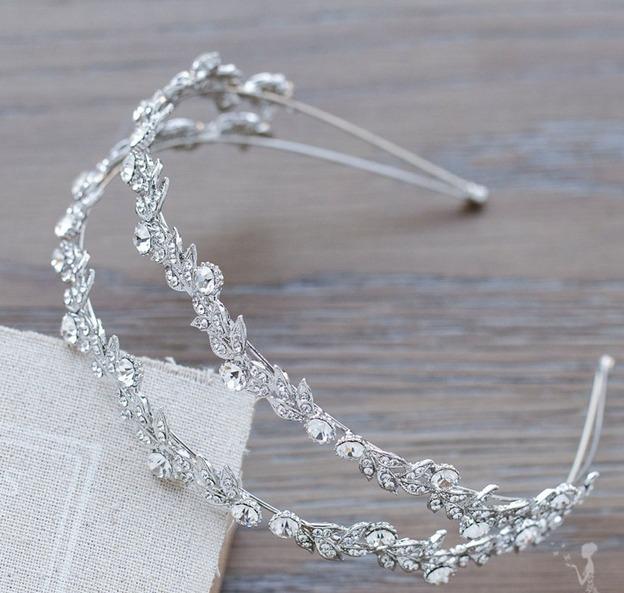 Enfeite De Tiara ~ Tiara Coroa Enfeite Cabelo Noiva Noivado Daminha Formanda R$ 119,99 em Mercado Livre