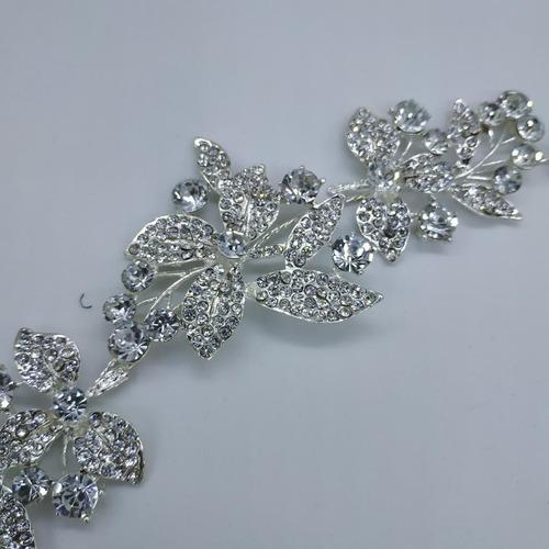 tiara corona diadema peineta  tocado novia quinceañera xv