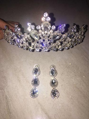 tiara de novia y quinceañera