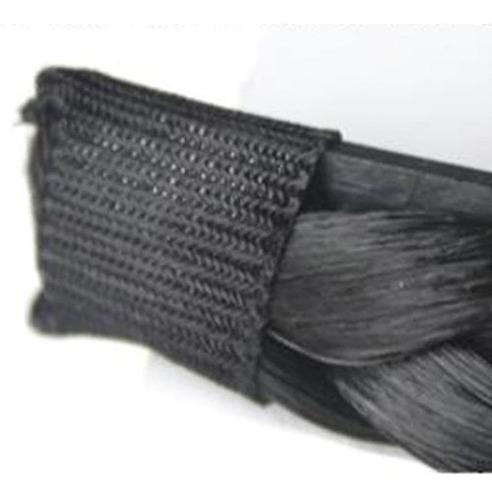 tiara de trança arco preta