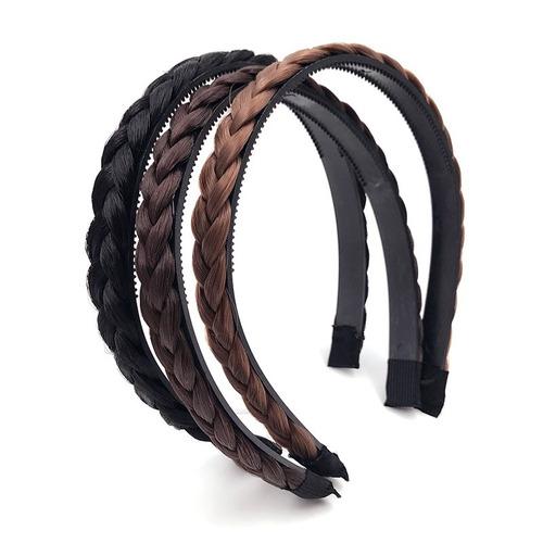 tiara de trança cabelo sintético valor de 1 peça promoção