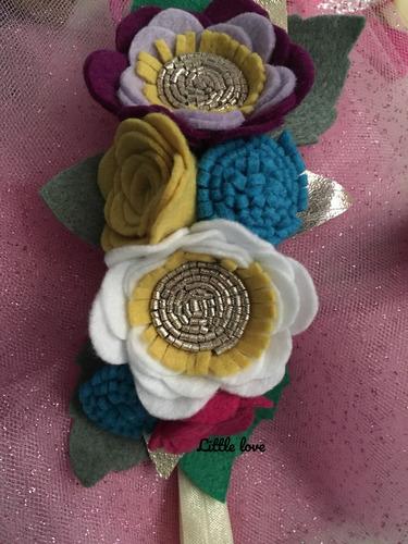 tiara diadema 4 pzas envio gratis. bebes niñas flores y moño